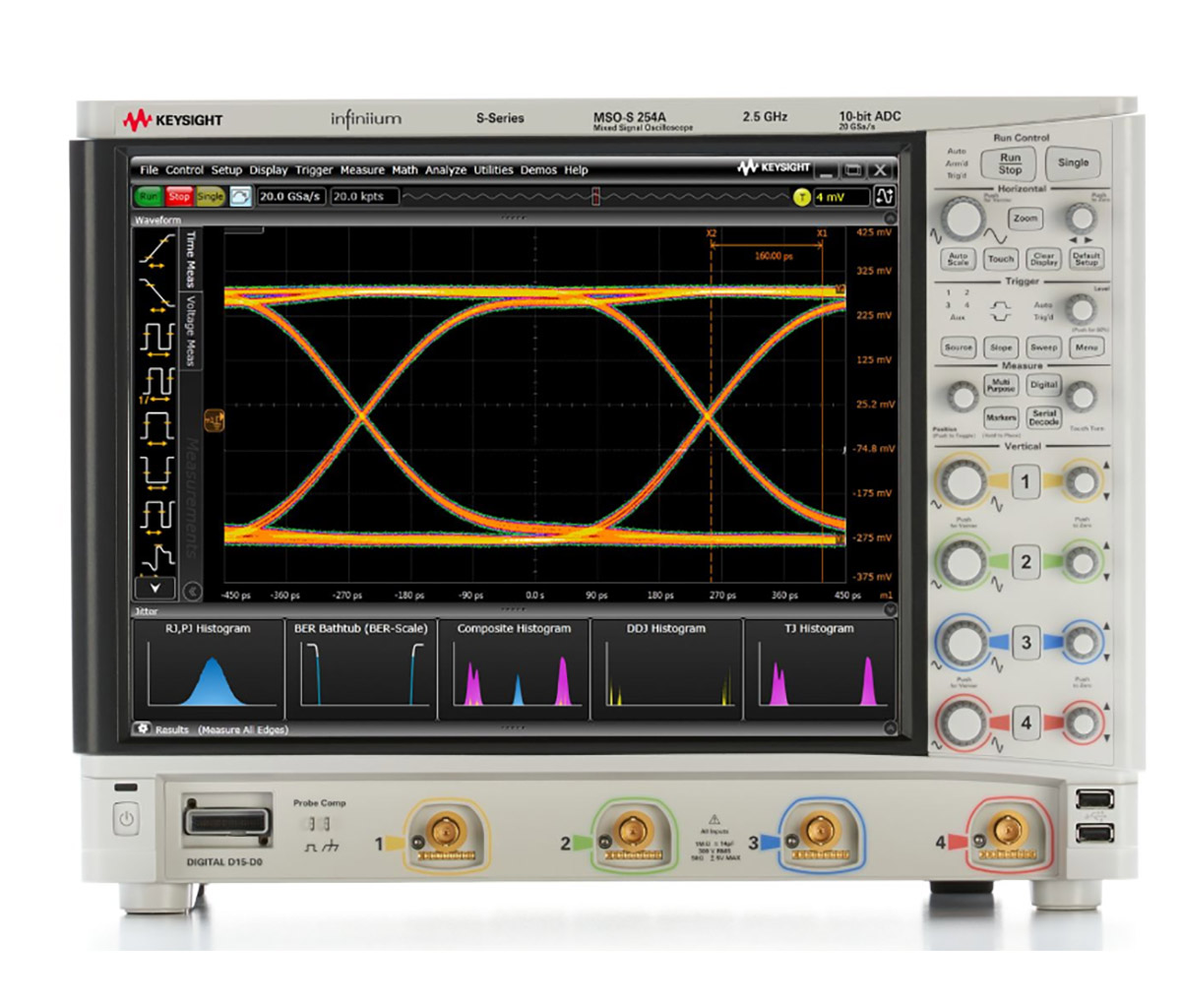 Keysight (Formerly Agilent) MSOS254A